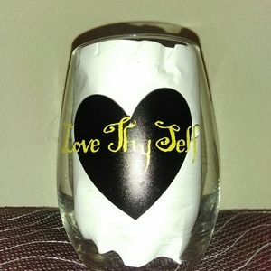 Handcrafted customized glassware
